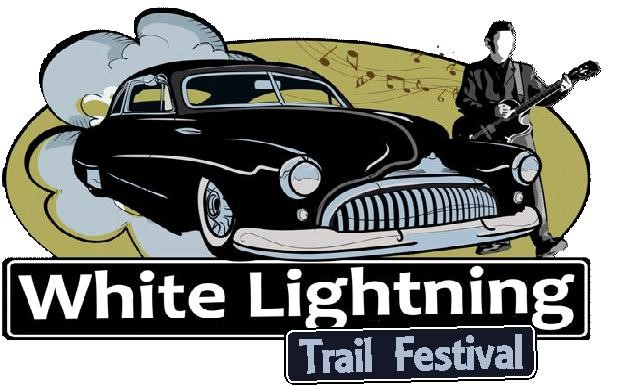 White Lightning Trail Festival Logo